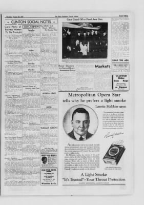 The Daily Clintonian from Clinton, Indiana on January 28, 1937 · Page 3
