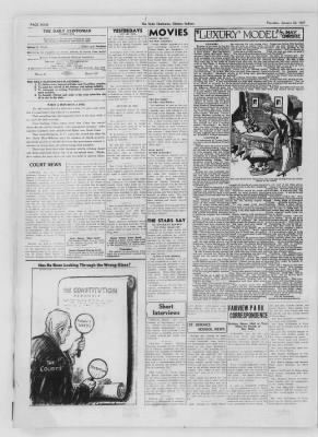 The Daily Clintonian from Clinton, Indiana on January 28, 1937 · Page 4