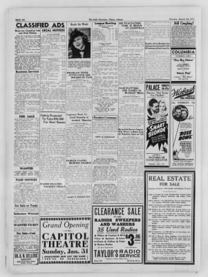 The Daily Clintonian from Clinton, Indiana on January 28, 1937 · Page 6
