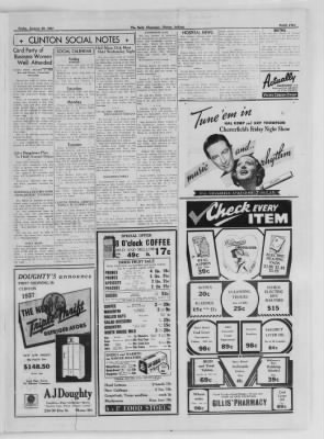 The Daily Clintonian from Clinton, Indiana on January 29, 1937 · Page 5