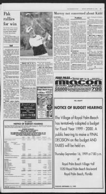 The Palm Beach Post from West Palm Beach, Florida on September 13, 1999 · Page 90