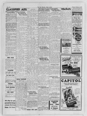 The Daily Clintonian from Clinton, Indiana on February 1, 1937 · Page 6