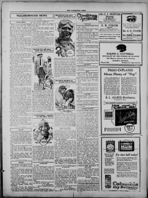 The Fairmount News from Fairmount, Indiana on May 1, 1922 · Page 3