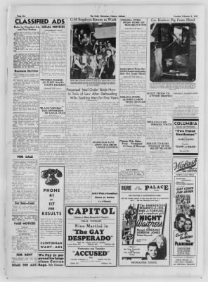 The Daily Clintonian from Clinton, Indiana on February 2, 1937 · Page 6
