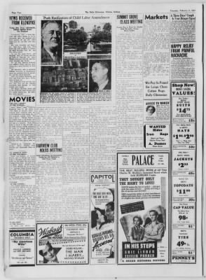 The Daily Clintonian from Clinton, Indiana on February 4, 1937 · Page 2