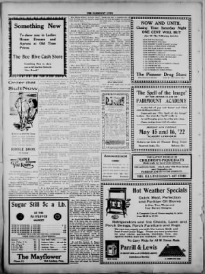 The Fairmount News from Fairmount, Indiana on May 11, 1922 · Page 4