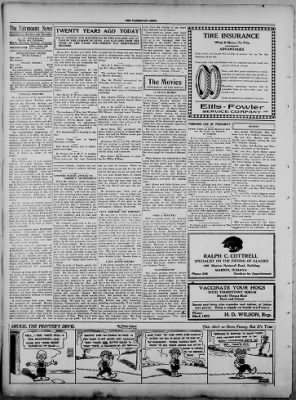 The Fairmount News from Fairmount, Indiana on May 15, 1922 · Page 2