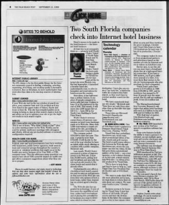 The Palm Beach Post from West Palm Beach, Florida on September 13, 1999 · Page 57