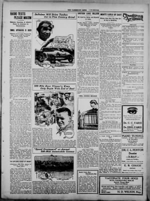 The Fairmount News from Fairmount, Indiana on May 22, 1922 · Page 3