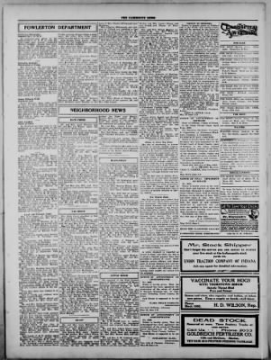 The Fairmount News from Fairmount, Indiana on May 25, 1922 · Page 3