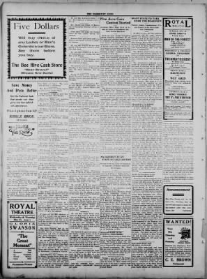 The Fairmount News from Fairmount, Indiana on May 29, 1922 · Page 4