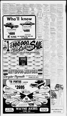 The Palm Beach Post from West Palm Beach, Florida on December 10, 1976 · Page 66