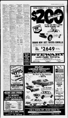 The Palm Beach Post from West Palm Beach, Florida on December 10, 1976 · Page 67