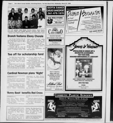 The Palm Beach Post from West Palm Beach, Florida on March 25, 1998 · Page 54
