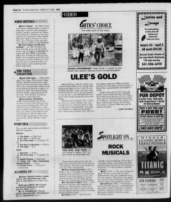 The Palm Beach Post from West Palm Beach, Florida on March 27, 1998 · Page 114