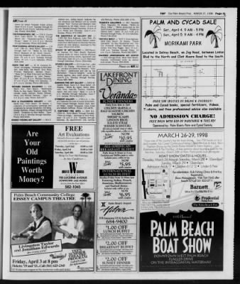 The Palm Beach Post from West Palm Beach, Florida on March 27, 1998 · Page 137