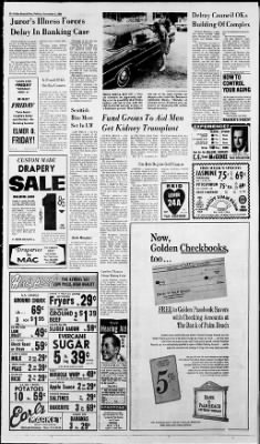 The Palm Beach Post from West Palm Beach, Florida on November 1, 1968 · Page 22