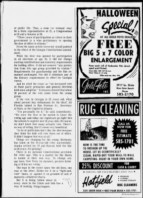 The Palm Beach Post from West Palm Beach, Florida on November 3, 1968 · Page 152