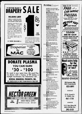 The Palm Beach Post from West Palm Beach, Florida on November 3, 1968 · Page 171