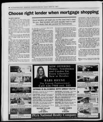 The Palm Beach Post from West Palm Beach, Florida on March 29, 1998 · Page 339