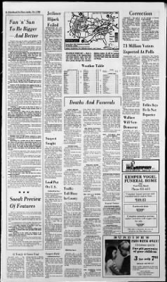 The Palm Beach Post from West Palm Beach, Florida on November 3, 1968 · Page 2