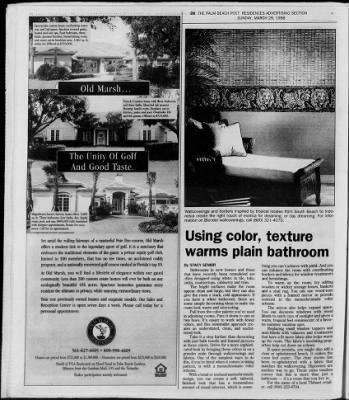 The Palm Beach Post from West Palm Beach, Florida on March 29, 1998 · Page 349
