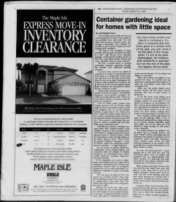 The Palm Beach Post from West Palm Beach, Florida on March 29, 1998 · Page 361