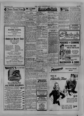 The Daily Clintonian from Clinton, Indiana on August 11, 1944 · Page 5