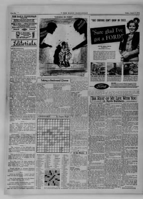 The Daily Clintonian from Clinton, Indiana on August 11, 1944 · Page 6
