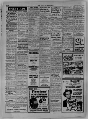 The Daily Clintonian from Clinton, Indiana on August 16, 1944 · Page 6