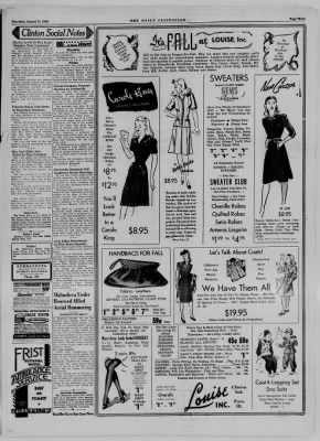The Daily Clintonian from Clinton, Indiana on August 31, 1944 · Page 3