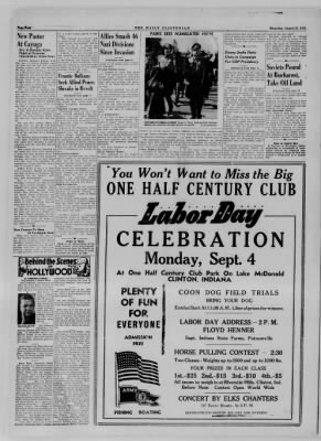The Daily Clintonian from Clinton, Indiana on August 31, 1944 · Page 4