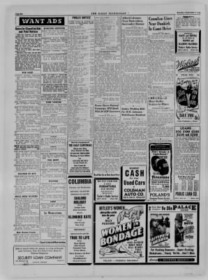 The Daily Clintonian from Clinton, Indiana on September 5, 1944 · Page 6