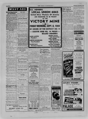 The Daily Clintonian from Clinton, Indiana on September 7, 1944 · Page 8