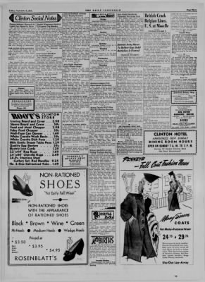 The Daily Clintonian from Clinton, Indiana on September 8, 1944 · Page 3