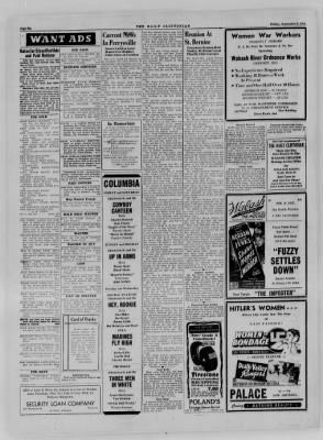 The Daily Clintonian from Clinton, Indiana on September 8, 1944 · Page 6