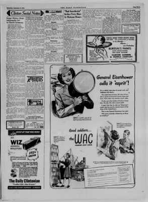 The Daily Clintonian from Clinton, Indiana on September 9, 1944 · Page 3