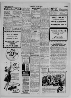 The Daily Clintonian from Clinton, Indiana on September 13, 1944 · Page 3