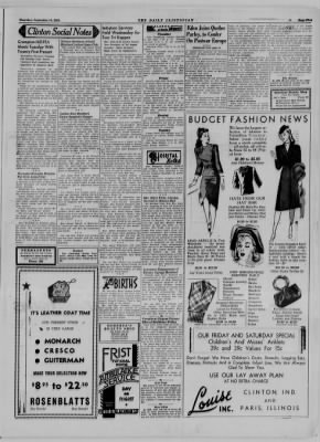 The Daily Clintonian from Clinton, Indiana on September 14, 1944 · Page 5