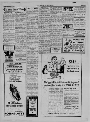 The Daily Clintonian from Clinton, Indiana on September 19, 1944 · Page 3