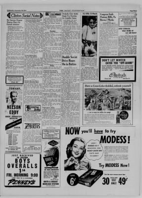 The Daily Clintonian from Clinton, Indiana on September 20, 1944 · Page 3