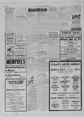 The Daily Clintonian from Clinton, Indiana on September 22, 1944 · Page 2