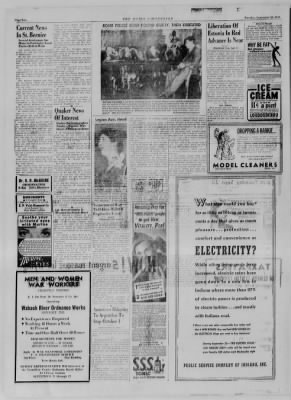 The Daily Clintonian from Clinton, Indiana on September 26, 1944 · Page 2