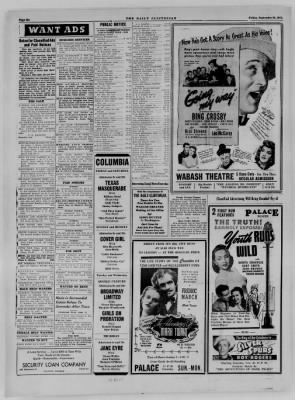 The Daily Clintonian from Clinton, Indiana on September 29, 1944 · Page 6