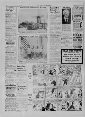 The Daily Clintonian from Clinton, Indiana on October 3, 1944 · Page 2