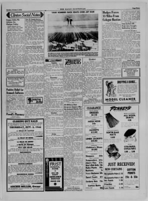 The Daily Clintonian from Clinton, Indiana on October 3, 1944 · Page 3