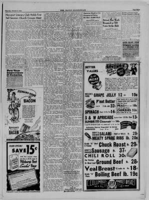 The Daily Clintonian from Clinton, Indiana on October 5, 1944 · Page 3