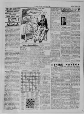 The Daily Clintonian from Clinton, Indiana on October 5, 1944 · Page 6