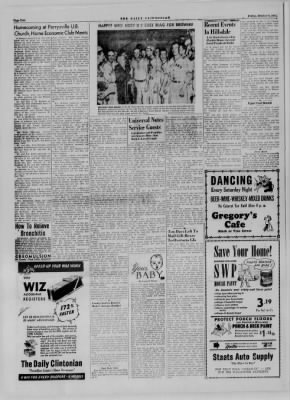 The Daily Clintonian from Clinton, Indiana on October 6, 1944 · Page 2
