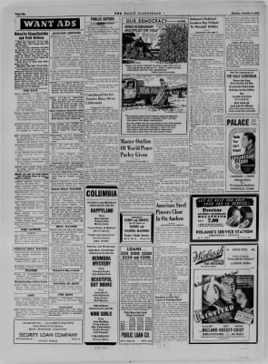 The Daily Clintonian from Clinton, Indiana on October 9, 1944 · Page 6
